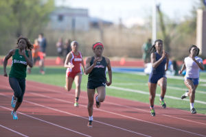 Heights track teams deliver strong performance at area meet