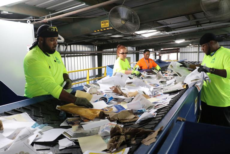 Recycling ramps up on post