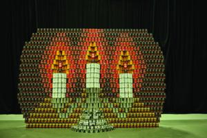 2014 CANstruction Belton