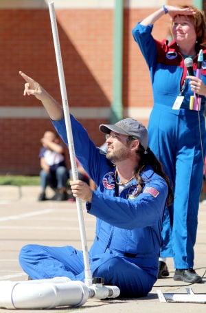 West Ward Elementary School Rocket Launch
