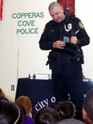 Local professionals speak to Cove elementary students