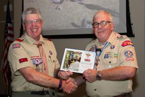 Leon Valley District Awards Dinner for Boy Scouts-CTC