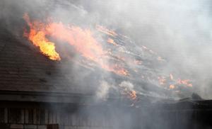 House Fire on Lisa Lane