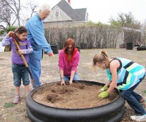 Community garden in Gatesville