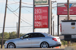 Gas Prices: The price of unleaded gasoline is at $2.93 at a 7-Eleven on Thursday, Oct. 31, 2013, in Killeen. - Photo by Catrina Rawson | Herald