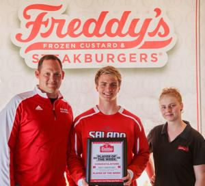 Freddy's-KDHpressbox.com Player of the Week Trey Sheppard