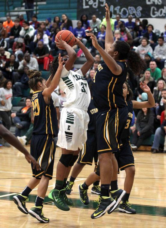 Stony Point girls at Ellison
