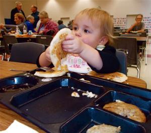 Kiwanis pancake supper