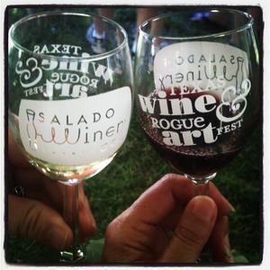 Texas Wine & Rogue Art Festival