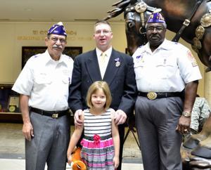 Purple Heart ceremony