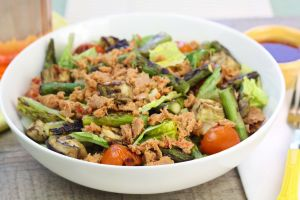 Veggie tuna salad