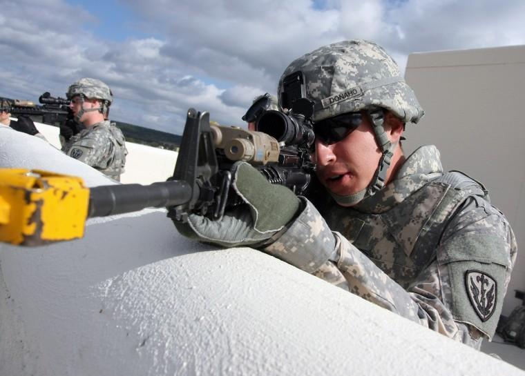 504th BfSB Reconnaissance Training