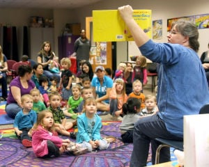 Storytime at Casey Memorial Library