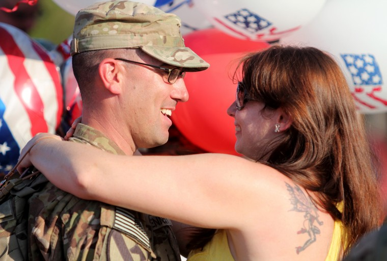 Year in Photos - 1st Air Combat Brigade Homecoming