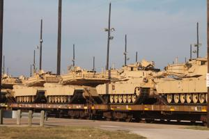 New tanks roll in at Fort Hood's operating center