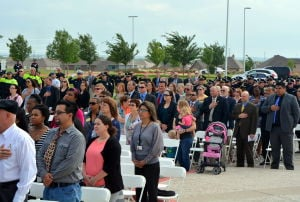 Killeen Police Department Memorial Ceremony