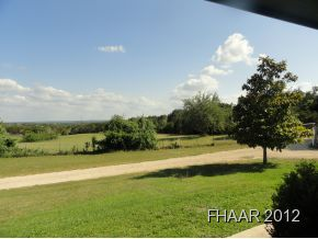 Over 5 acres of quiet, countryside--very private with a nice