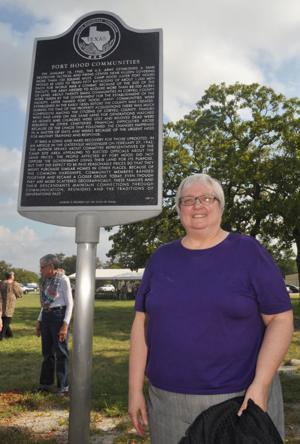 Historical Marker at Fort Hood