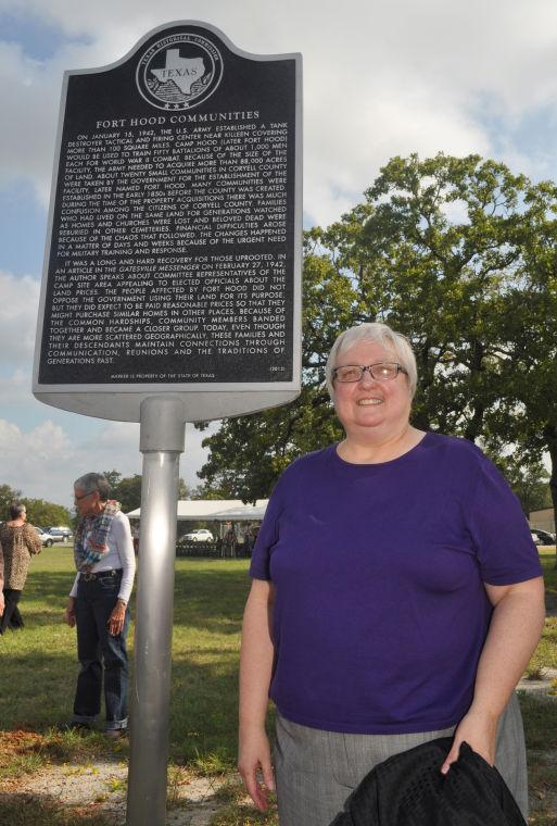 Historical Marker at Fort Hood