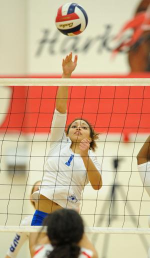 Harker Heights vs. Copperas Cove volleyball