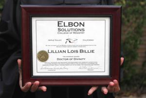 Teacher's Honorary Degree