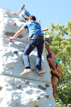 Eventgoers stay active during jamboree in Nolanville