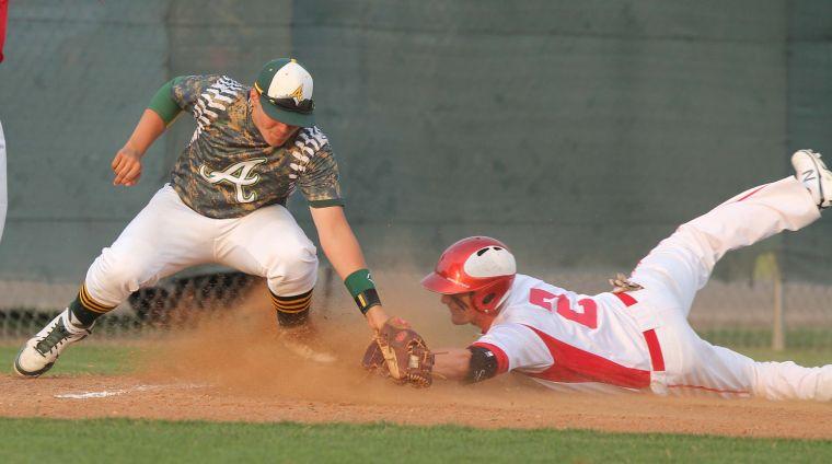 Salado vs Academy Baseball