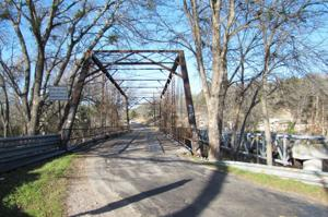 Gatesville old bridge