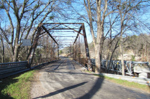 Gatesville old bridge
