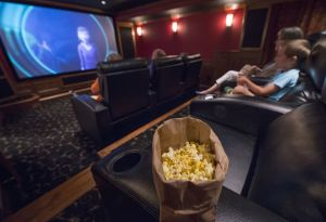 Personal home theaters are growing in popularity