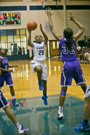 Waco University vs. Copperas Cove-Girls Basketball 11-24-2014