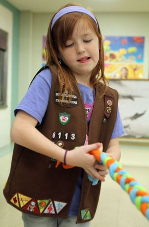 Brownie Girl Scouts