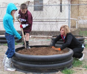 Community gardening in Gatesville