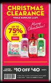 Bath & Body Works Semi Annual Sale! $10 Coupon Included!