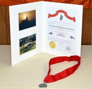 OTC St. Barbara Award