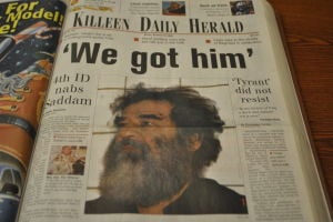 Saddam Hussein captured a decade ago today