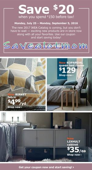 Ikea offers 20 off coupon savealotmom mobile adv for Coupon mobile ikea