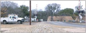 Belton ponders closing College Street at railroad crossing near university