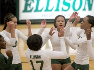 Taylor comes up big in Ellison's sweep of Belton