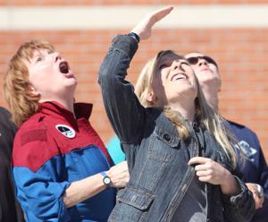 West Ward Elementary School Rocket Launch