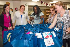 Credit union sends school supplies to Heights Elementary School
