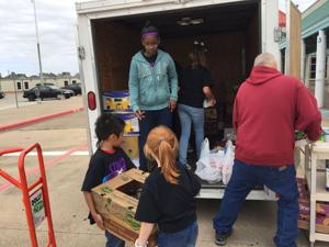 Students host drives to support Food for Families, fill shelves of local pantries