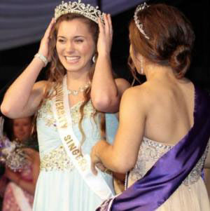 Miss MHB Pageant: Linny Mitchell was crowned Miss Mary Hardin-Baylor 2014 and Miss Congeniality. - Courtesy photo