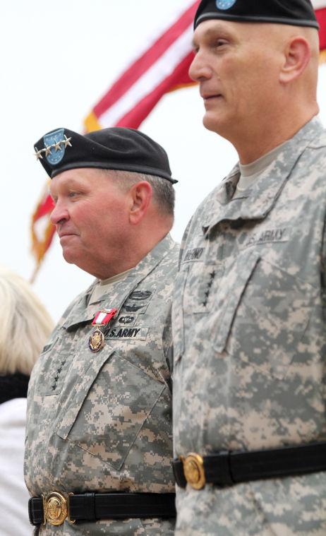 Retirement Ceremony in honor of Gen. James D. Thurman