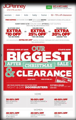JCPenney's $10 off Coupon!