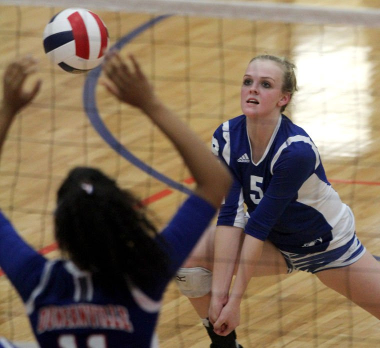 Cove vs. Duncanville Volleyball
