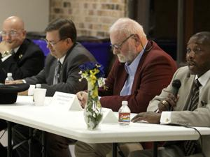 Councilmen address concerns at forum