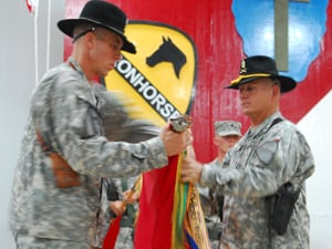 Ironhorse takes the reigns in Iraq