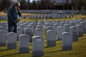 Death rate unusually high for young veterans