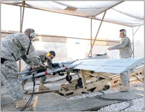 Maintenance critical to keep Shadow aircraft ready for flight